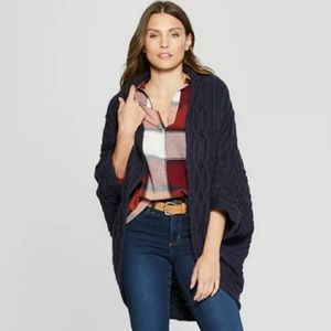 Universal Thread Oversized Chunky Knit Cardigan S